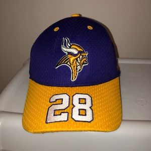 Adrian Peterson Vikings hat